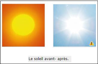 pourquoi le soleil est jaune